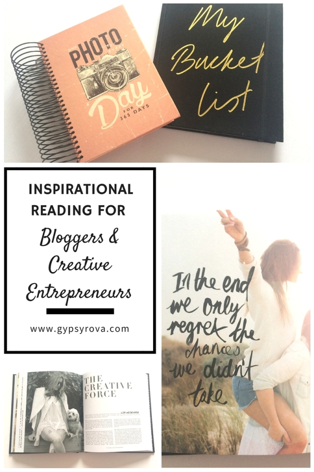 Inspirational Reading For Bloggers & Creative Entrepreneurs | Gypsy Rova Blog