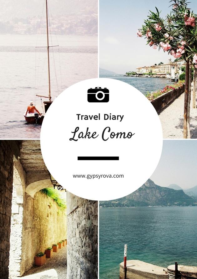 Travel Diary - Lake Como | Gypsy Rova Blog